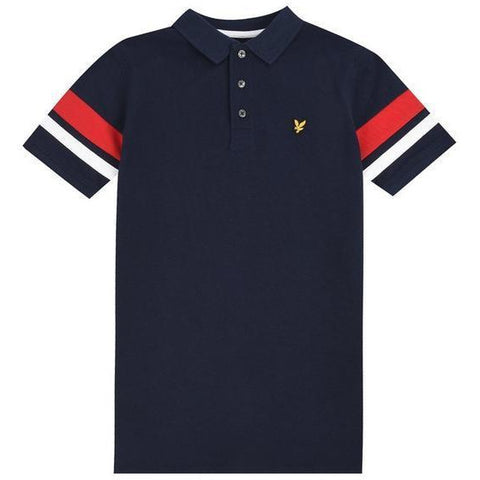 Lyle & Scott Contrast Band Polo InfantsAlive & Dirty