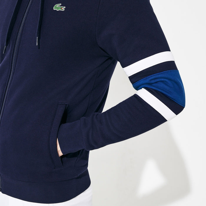 Lacoste Col Block Full-Zip Hoodie MenAlive & Dirty