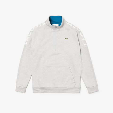 Lacoste 1/4 Zip Print Top MenAlive & Dirty