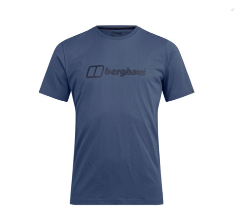 Berghaus Big Colour Logo T-Shirt MenAlive & Dirty