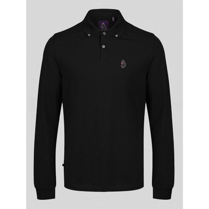 Luke 1977 New Bil Lion L/S Polo MenAlive & Dirty