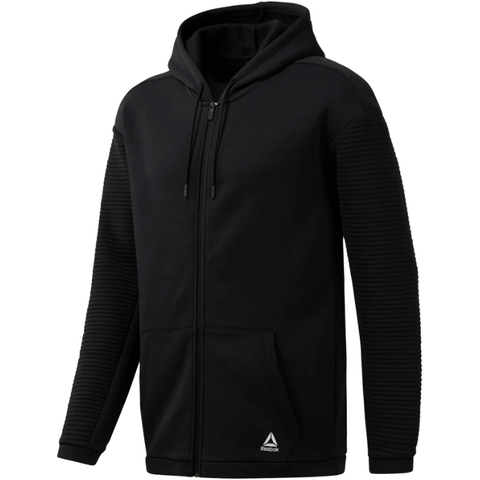 Reebok Wor Fleece Full-Zip Hoody MenAlive & Dirty
