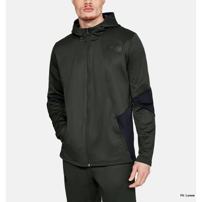 Under Armour Gametime Fleece FZ Hoody Men'sAlive & Dirty