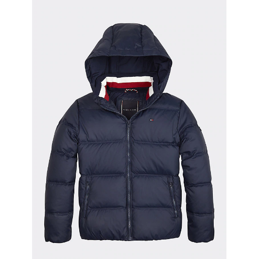 Tommy Hilfiger Ess Down Jacket JuniorAlive & Dirty