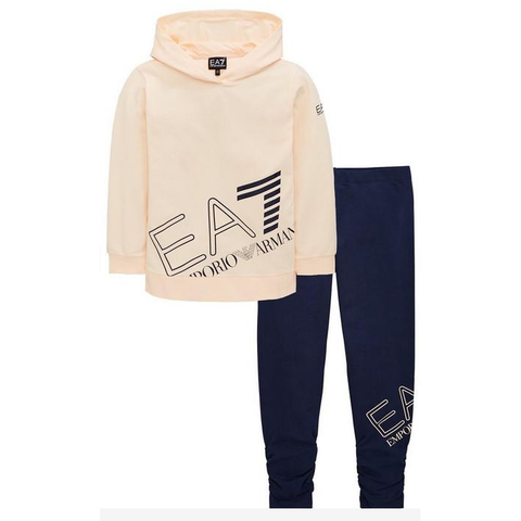 EA7 Big Logo OTH Top/Legging Junior GirlsAlive & Dirty