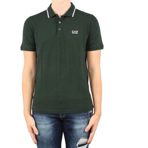 EA7 Short Sleeve Polo Men'sAlive & Dirty