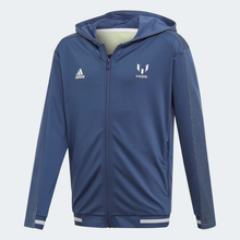 adidas Trio Full Zip Hooded Tracksuit JuniorAlive & Dirty