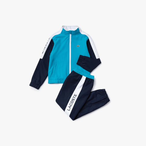 Lacoste Side Panel Tracksuit JuniorAlive & Dirty