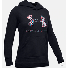 Under Armour Rival Print Logo Hoody JuniorAlive & Dirty