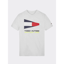 Tommy Hilfiger Flag Sailing T-Shirt JuniorAlive & Dirty