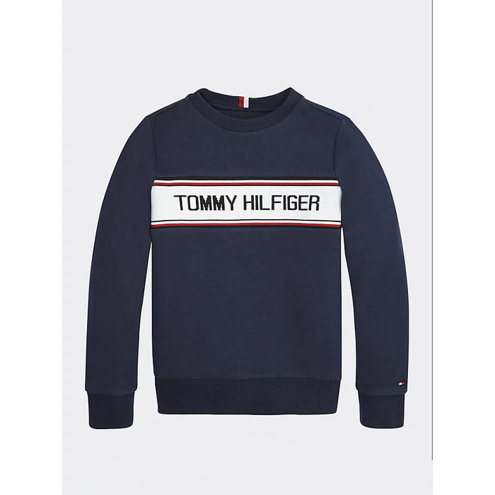 Tommy Hilfiger Intarsia Sweatshirt JuniorAlive & Dirty