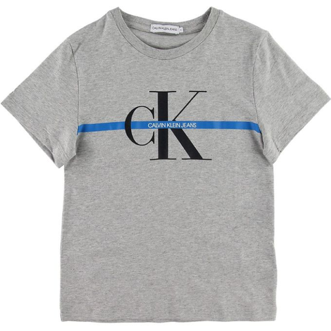 Calvin Klein Mono Stripe T-Shirt JuniorAlive & Dirty