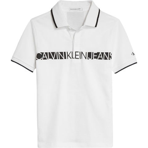 Calvin Klein Hero Logo Polo JuniorAlive & Dirty