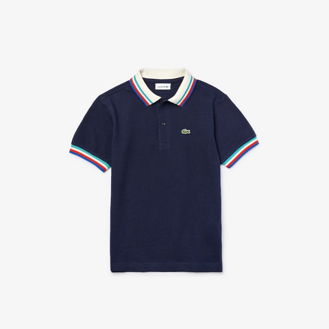 Lacoste Tipped Collar Polo JuniorAlive & Dirty