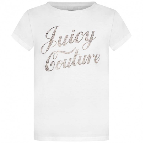 Juicy Couture Branded Logo T-Shirt JuniorAlive & Dirty