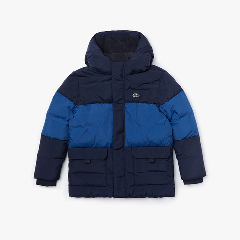Lacoste Big Baffle Jacket JuniorAlive & Dirty