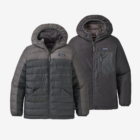 Patagonia Reversible Down Jacket JuniorAlive & Dirty