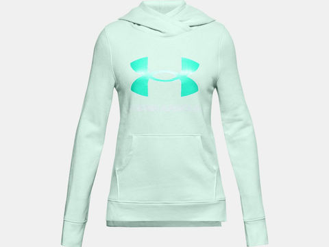 Under Armour Rival Fleece Logo Hoodie JuniorAlive & Dirty