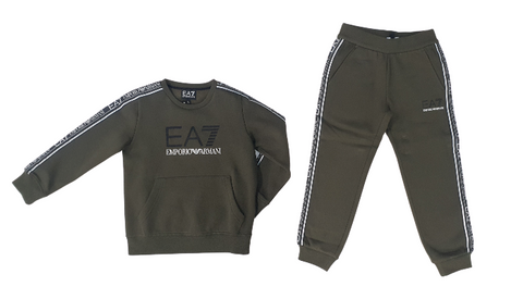 Emporio Armani EA7 Taped Crew Tracksuit InfantAlive & Dirty