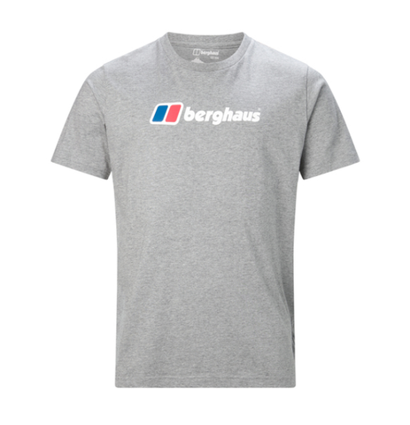 Berghaus Big Corp Logo Short Sleeve T-Shirt MenAlive & Dirty