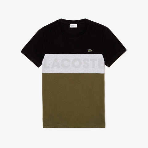 Lacoste Big Print T-Shirt MenAlive & Dirty
