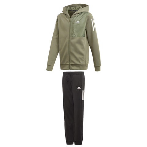 adidas AEROREADY Full-Zip Hooded Tracksuit JuniorAlive & Dirty