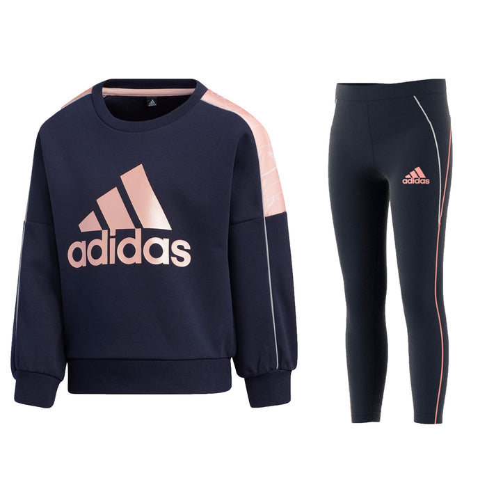 adidas LW Knit Crew Tracksuit InfantAlive & Dirty