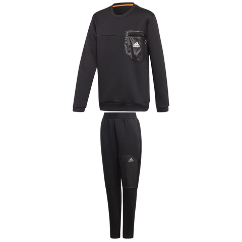 adidas AeroReady Crew Tracksuit JuniorAlive & Dirty