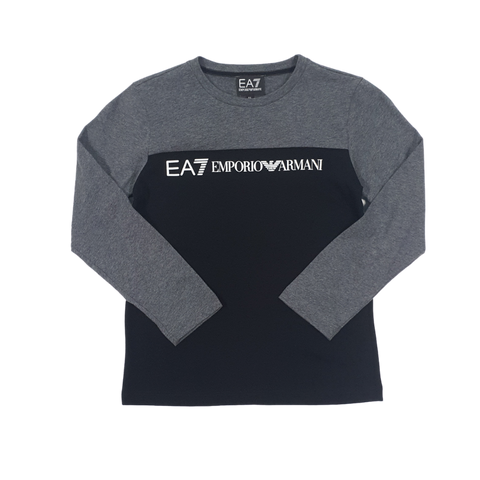 EA7 Long Sleeve Block T-Shirt InfantAlive & Dirty