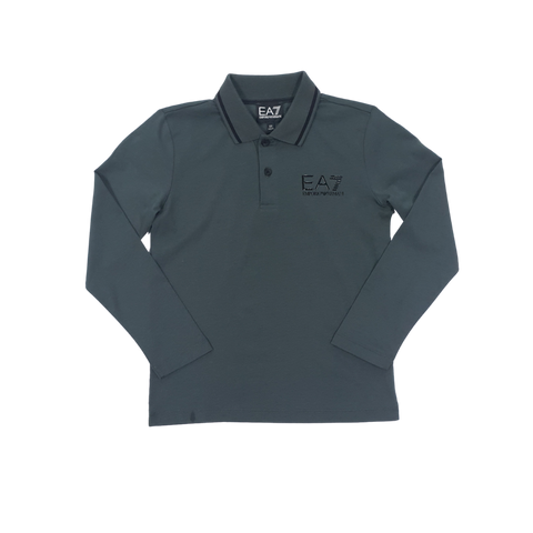 EA7 Long Sleeve Polo Shirt InfantAlive & Dirty