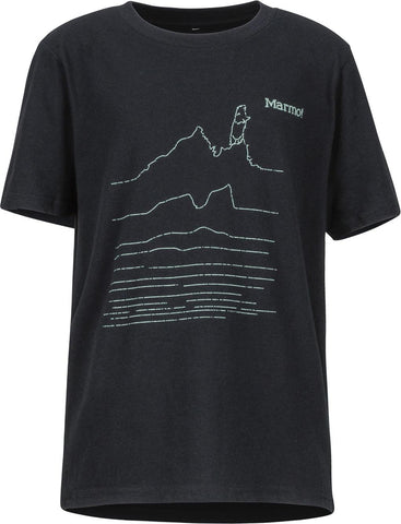 Marmot Purview Short Sleeve T-Shirt JuniorAlive & Dirty