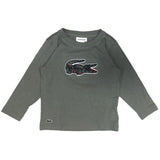 Lacoste Camo Croc Long Sleeve T-Shirt JuniorAlive & Dirty