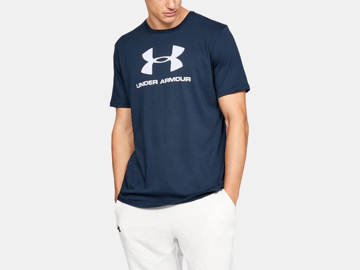 Under Armour Sportstyle Logo T-Shirt MenAlive & Dirty