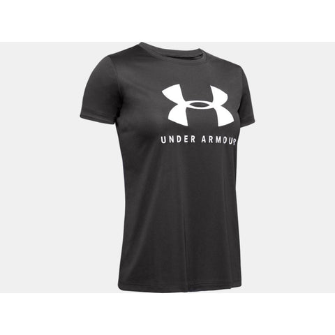 Under Armour Tech Solid Logo T-Shirt JuniorAlive & Dirty