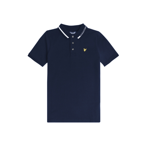 Lyle & Scott Brand Collar Polo JuniorAlive & Dirty
