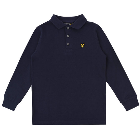 Lyle & Scott Classic Long Sleeve Polo Shirt InfantAlive & Dirty