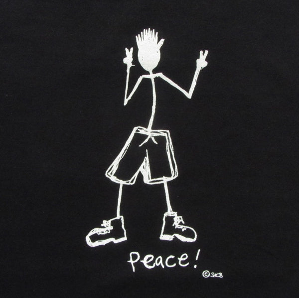 Peace on Men's Tee