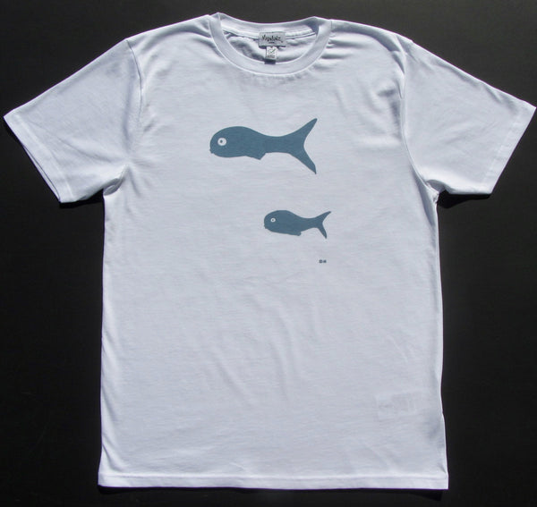 Little Fish on Men's Tee