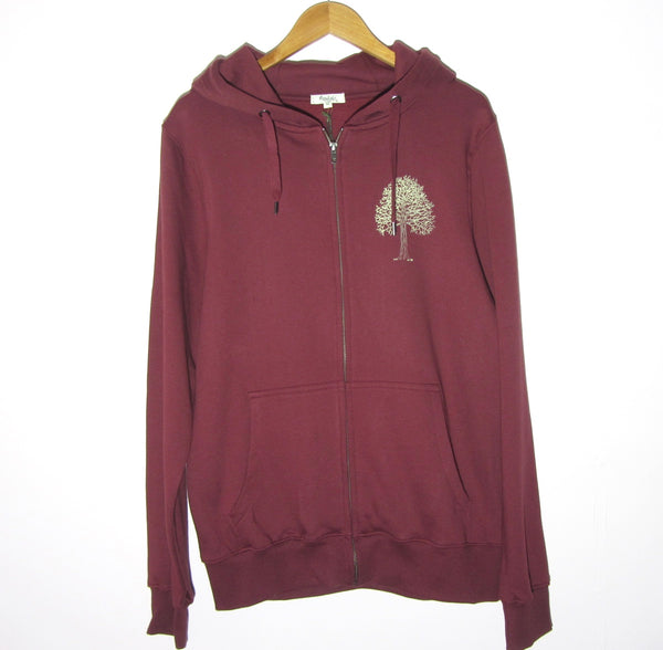 Tree on Men's/Unisex Zip Hoodie