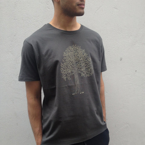 Tree on Men's Tee