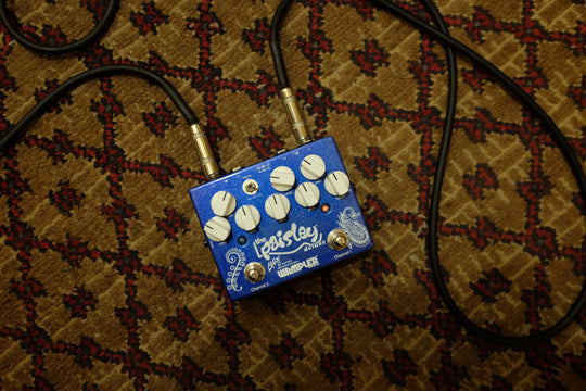 New Wampler Paisley Drive Deluxe Guitar Overdrive Pedal