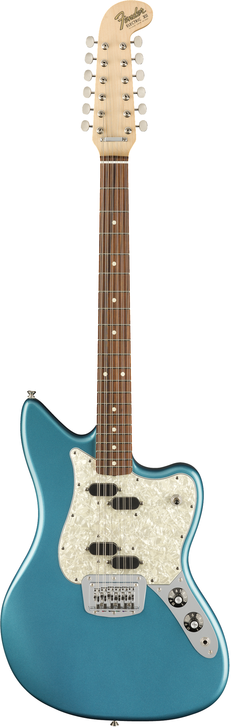 Fender Electric XII Lake Placid Blue PF - Regent Sounds