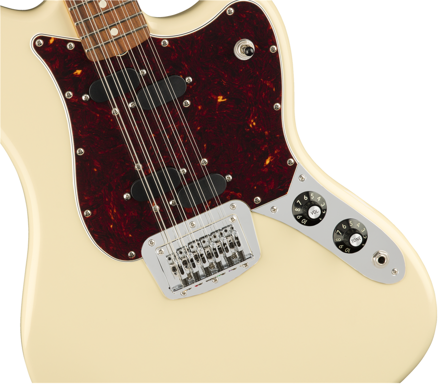 Fender Electric XII Olympic white PF - Regent Sounds