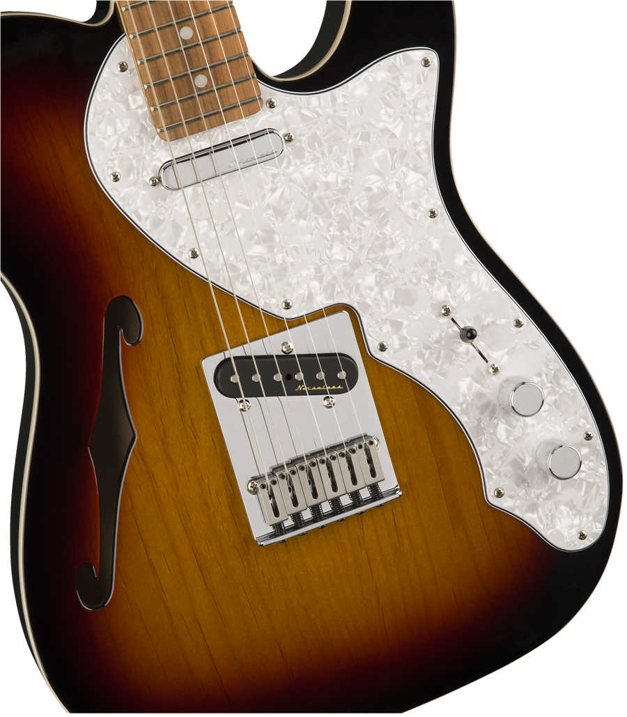 Fender Deluxe Tele Thinline 3 Tone Sunburst PF - Regent Sounds