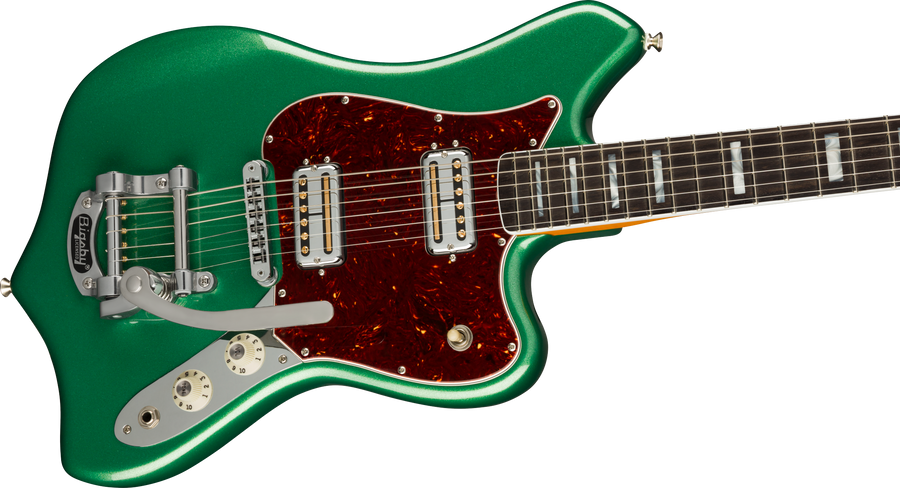 Fender Parallel Universe Maverick Dorado Mystic Pine Green - Regent Sounds