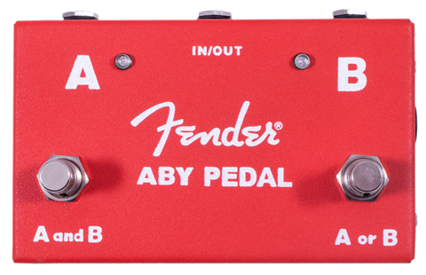 Fender 2 Switch ABY Pedal - Regent Sounds