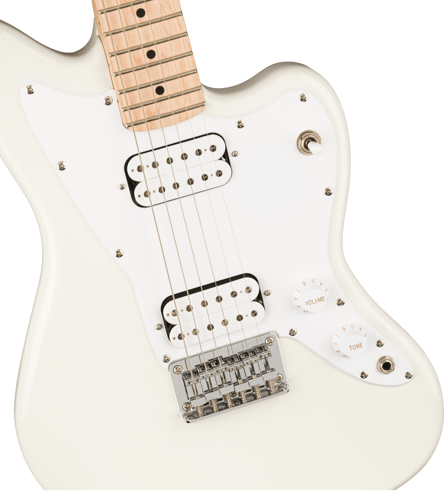 Squier Mini Jazzmaster HH Olympic White - Regent Sounds