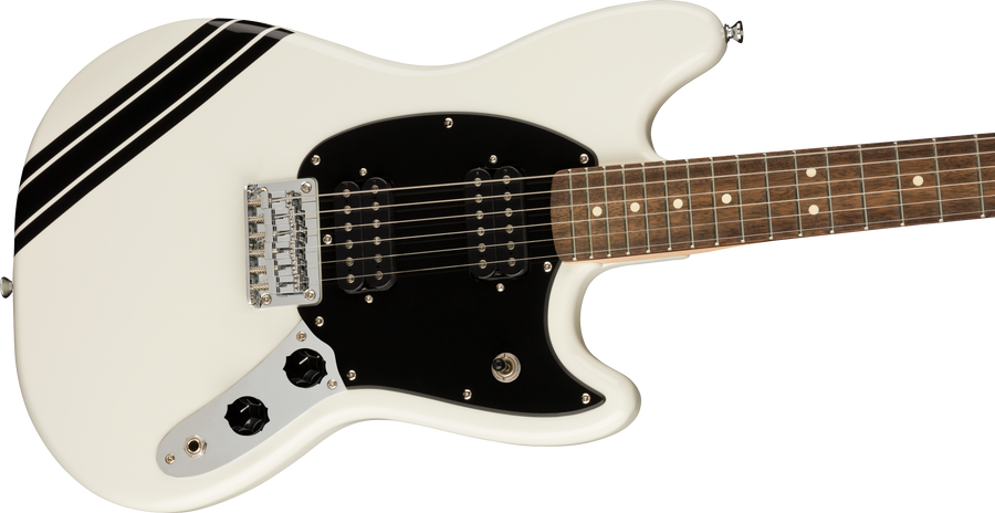 Squier FSR Bullet Competition Mustang Arctic White - Regent Sounds