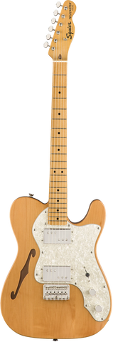 Squier Classic Vibe 70s Telecaster Thinline Natural MN