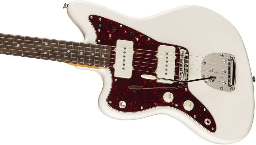 Squier Classic Vibe 60s Jazzmaster LH Olympic white LRL - Regent Sounds